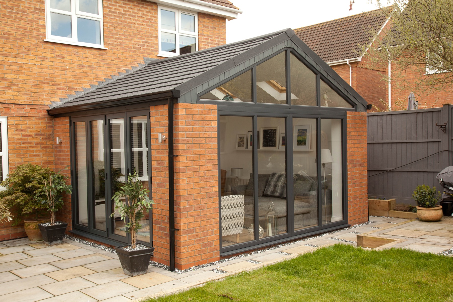 New build Sunrooms Cultra Co. Down